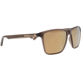 Red Bull SPECT Blade Sunglasses Men, shiny x'tal warm grey/brown-bronze mirror